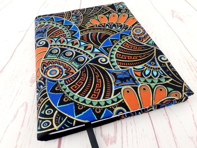 Egyptian 1920s Inspired A5 Reusable Journal Notebook Diary Cover