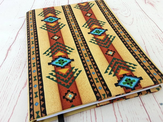 Tribal Journal Notebook Diary Cover A5 Reusable