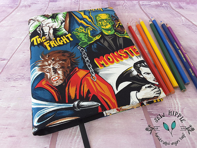 Gothic Horror Fan A5 Journal Notebook Cover