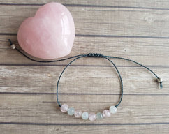 2b2364ffab0 Rose Quartz Moonstone bracelet