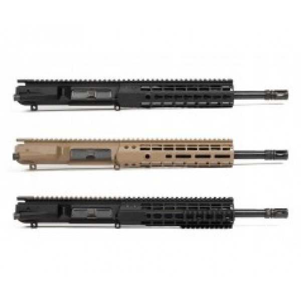 "AR-10 .308 12.5"" Aero Precision Style Upper Receiver Assembly"