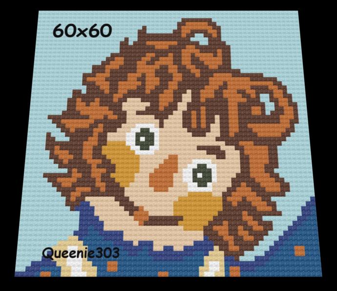 Raggedy Ann 60x60