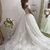 Romantic Women Ball Gown Wedding Dresses, Lace Off the Shoulder Bridal Gown with