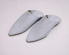 d10d08287a8 brown leather babouche leather slippers by craftsman jamal on Zibbet