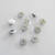 10 Stainless Steel Clutch Backs for Pins Squeeze Clutch for Brooches Squeeze