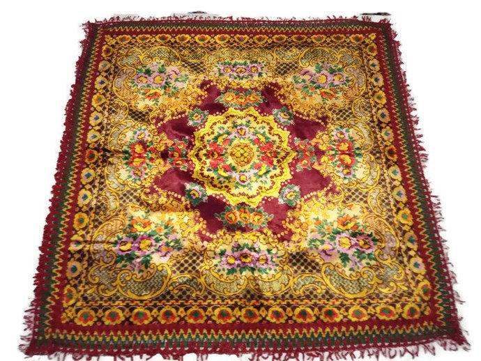 Velvet Tablecloth, Velvet Table Linen, Sofa Small Throw Velvet, Couch Throw,