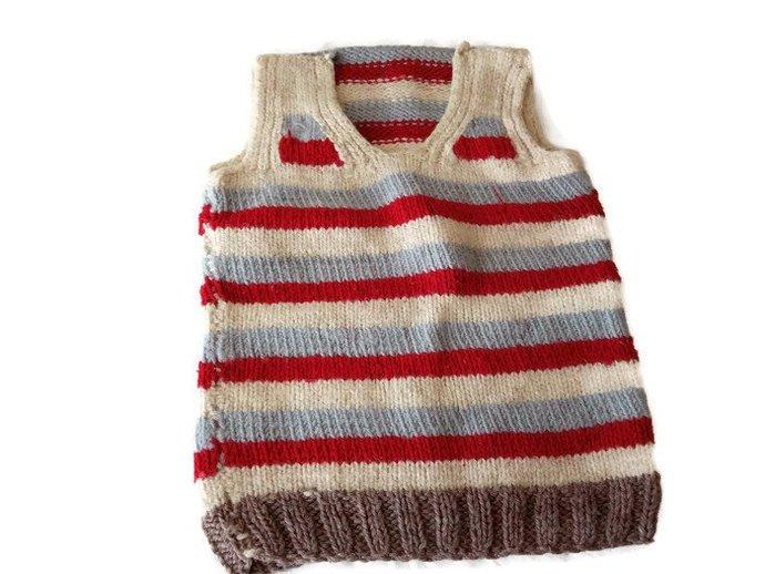 Kids sweater hand knit. Cute Kids Sweater. Handmade Sweater. Anti Bacterial