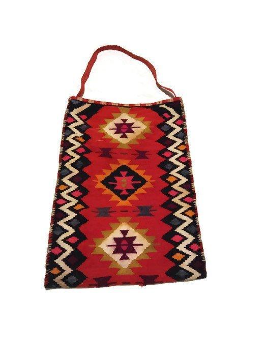 Bag Kilim. Unique bag. Wonderful patern. Hand woven. Unique shoulder bag.