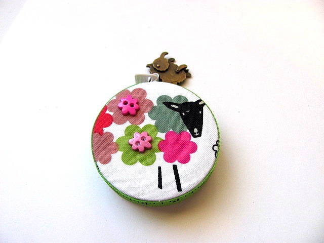 Tape Measure Modern Sheep Retractable Measuring Tape