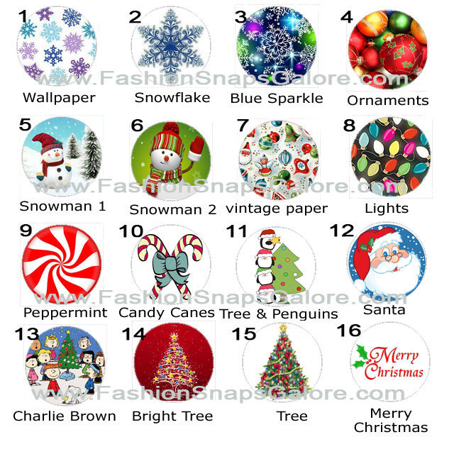 Christmas Snap, Christmas Jewelry, Snowflake snap, Ornament jewelry, Snowman,