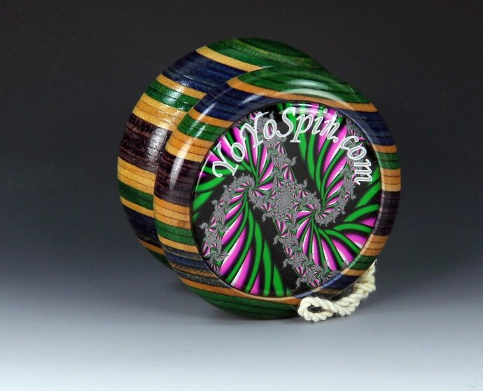 "Vintage Tom Kuhn/BC ""Apollo"" Butterfly Yo-Yo With Fractals !"