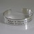 Mother's, Father's, Grandparent's Cuff Bracelet - Personalized with children's
