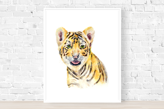 Woody the Baby Tiger Print