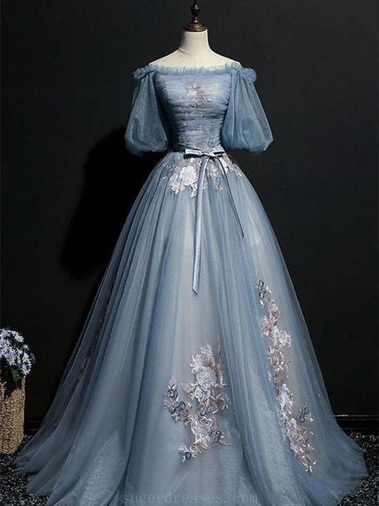 Long Prom Dresses, Prom Dresses A-Line