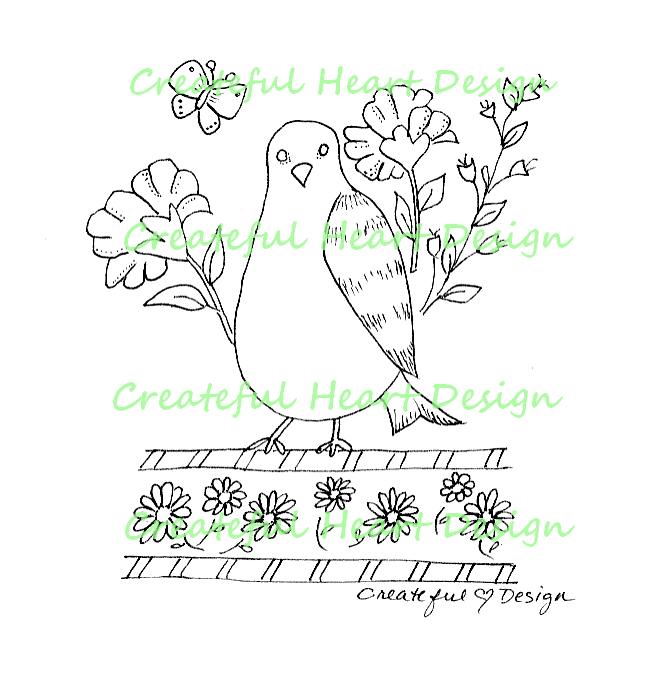 Springtime Bird, Image