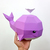 DIY Papercraft Whale,Papervraft fish,Koi,fish toys,Printable pdf,Whale svg,Fish