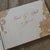 lace engraved guest book / wood wedding guest book / floral lace guest book /