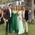 Sexy Backless Green Evening Dress, Halter Long Prom Dress, A Line Chiffon Prom