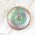 Czech Glass Button 40mm flower button for crafts or personalised jewelry and