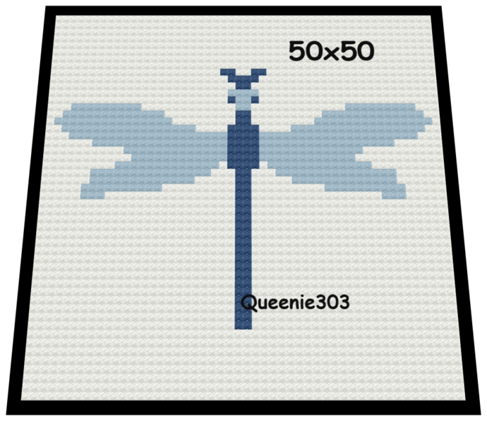Dragonfly 50x50