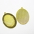 Large oval cabochon base, 5 Gold tone 40x30mm bezels, Gold resin frame, pendant