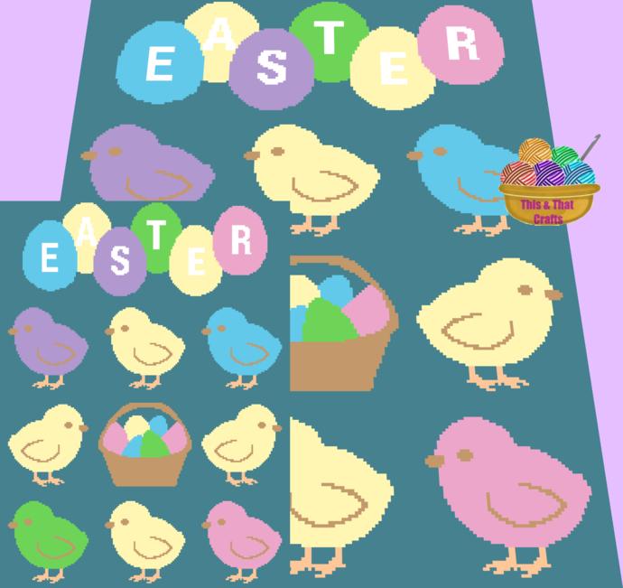 Easter Block Cal (sc)