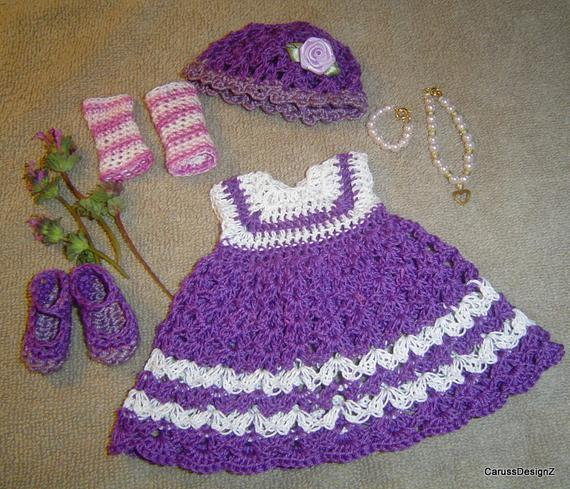 """Classic Shells Doll Pattern,Reversible Doll,Pattern in PDF,13"""" Doll Clothing"""