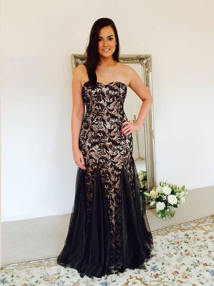 Mermaid Prom Dresses Long Sweetheart Black Lace By Prettylady On