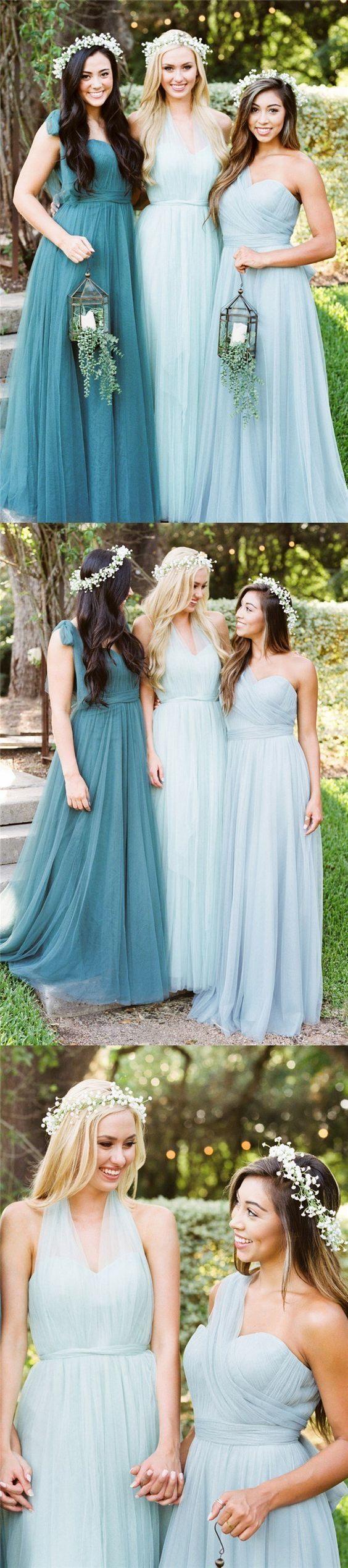 New Arrival Formal Elegant Long Bridesmaid Dresses, Custom Popular Bridesmaid