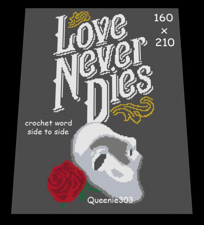 Love Never Dies 160x210