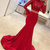 Red Satin Prom Dresses,Two Piece Prom Dresses,Prom Dresses