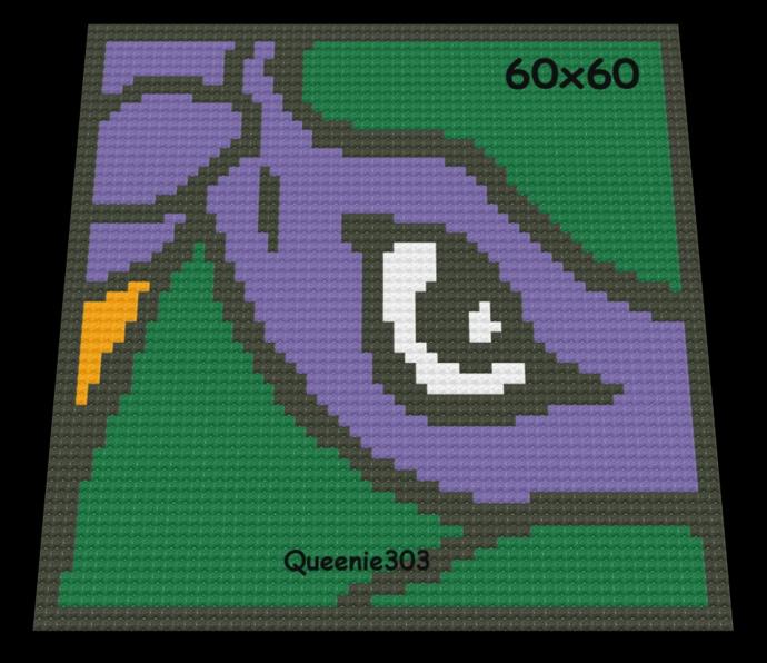 TMNT Donatello 60x60
