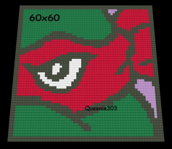 TMNT Raphael 60x60