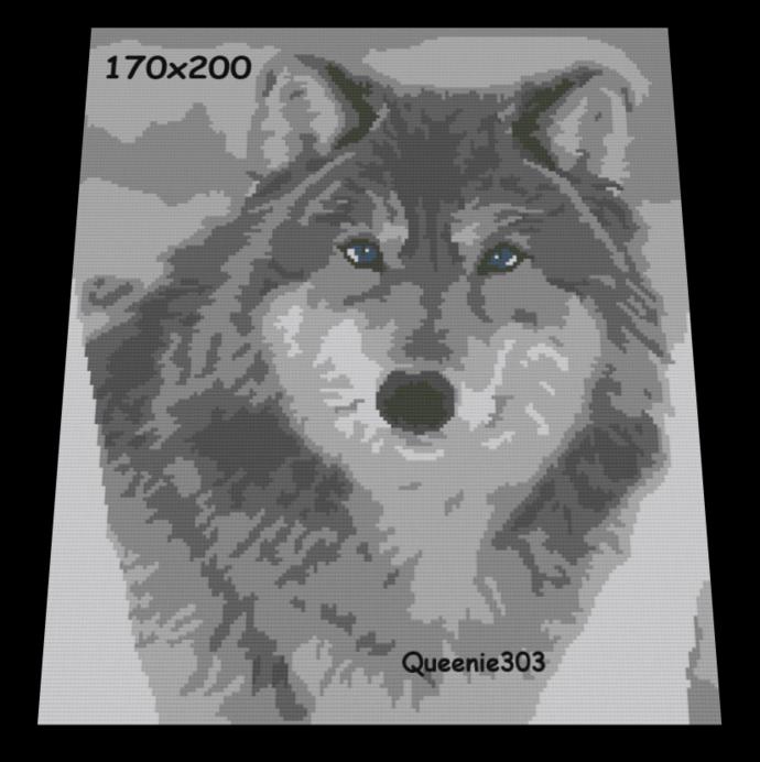 Wolf 170x200