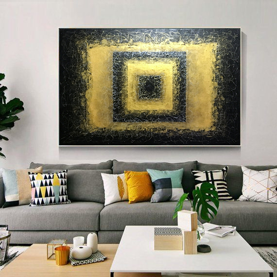 Abstract wall art,Original art,Acrylic paintings on canvas,Abstract
