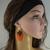 Boho beaded earrings for women, Beaded long earrings, Bohemian earrings Boho