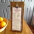 Rustic Wall Art Kitchen Decor Recipe Stand Rustic Weathered Wooden Wall Hanging