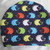Rainbow Hedgehogs on Parade Round Sleeping Bag for Hedgehogs made to fit inside