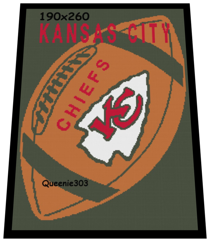 Football Kansas City Chiefs 190x260