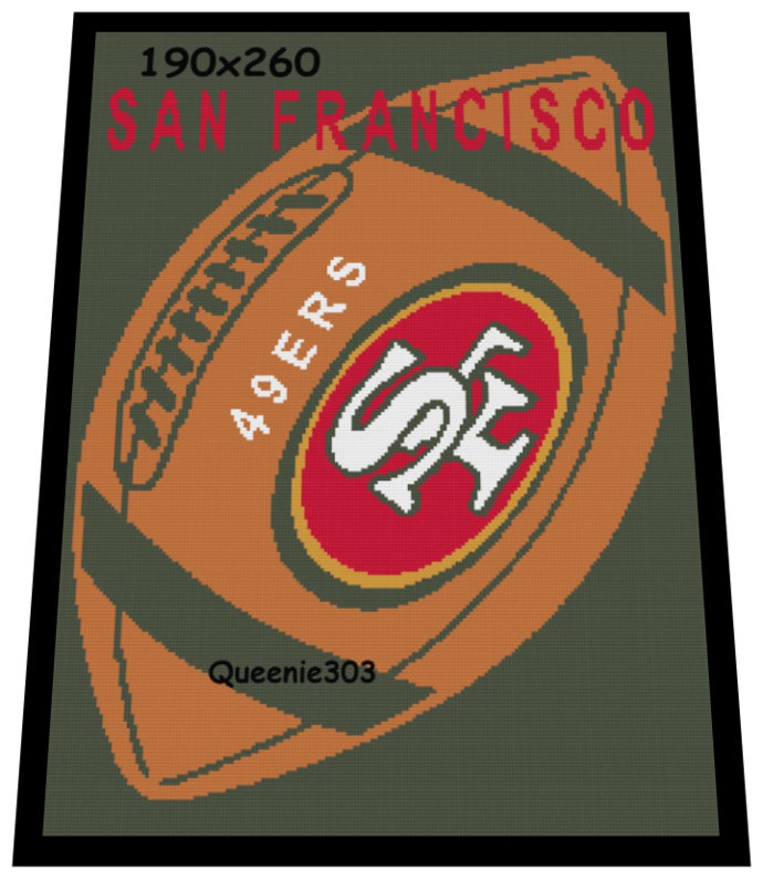 Football San Francisco 49ers 190x260