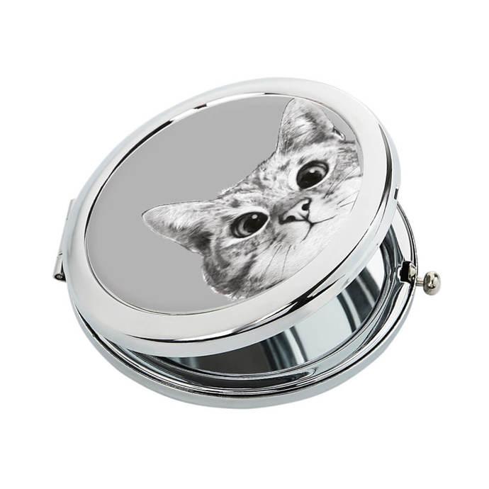 "Pocket mirror ""Hey, Cat!"""