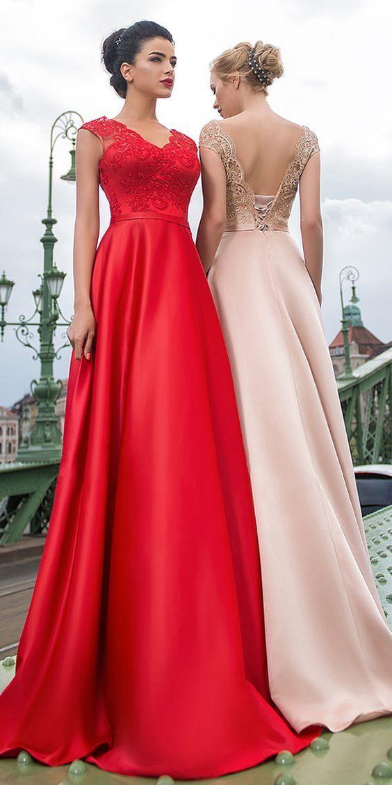 Beautiful Satin Prom Dresses 08ed7757c