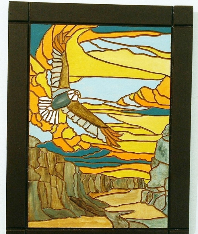 Desert Canyons, Southwest Wood Wall Art