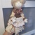 Meet Misty - Vintage Style Fabric Doll - Display Only