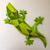 Make your own papercraft gecko   DIY wall mount   3D papercraft animal  
