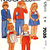 McCall's 7035 Boys/Girls Jacket, Overalls, Jumper, Sundress 80s Vintage Sewing