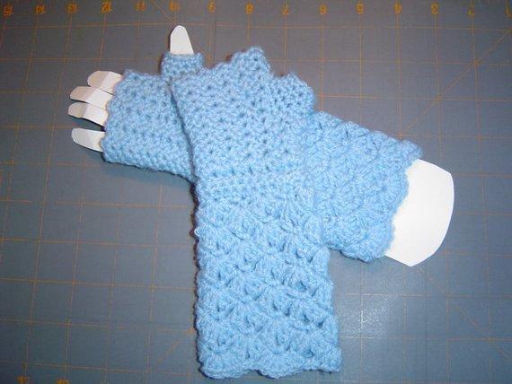 Little Girls Arm Warmers Pattern,3 to 5 years Glove Pattern,Child Fingerless