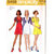 Simplicity 5499 Misses Mini Dress 70s Vintage Sewing Pattern Size 10 Bust 32 1/2