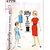 Simplicity 4779 Girls Shift Dress 60s Vintage Sewing Pattern Size 6 Chest 24