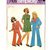 Simplicity 7105 Girls Retro Dress, Top, Pants 70s Vintage Sewing Pattern Size 10